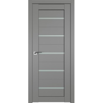 Дверь Профиль Дорс 7U Грей - со стеклом