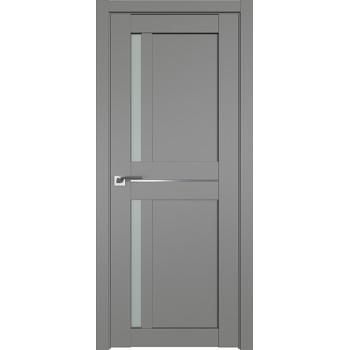 Дверь Профиль дорс 19U Грей - со стеклом