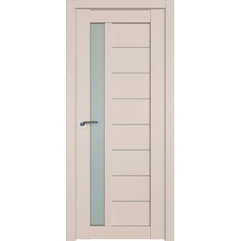 Дверь Профиль дорс 37U Санд - со стеклом