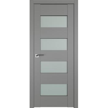 Дверь Профиль Дорс 46U Грей - со стеклом