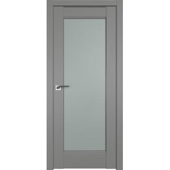 Дверь Профиль дорс 107U Грей - со стеклом