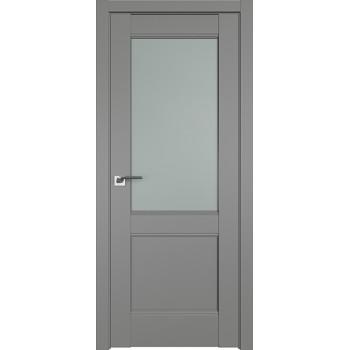 Дверь Профиль дорс 109U Грей - со стеклом