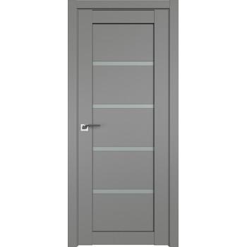 Дверь Профиль дорс 2.09U Грей - со стеклом