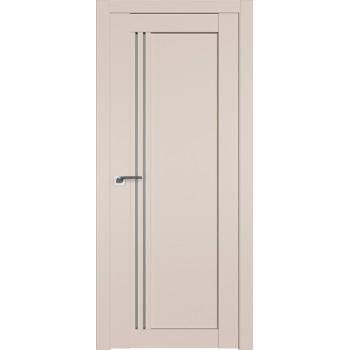 Дверь Профиль дорс 2.50U Санд - со стеклом