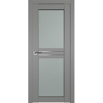 Дверь Профиль дорс 2.56U Грей - со стеклом