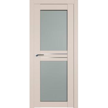 Дверь Профиль дорс 2.56U Санд - со стеклом