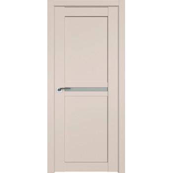 Дверь Профиль дорс 2.43U Санд - со стеклом