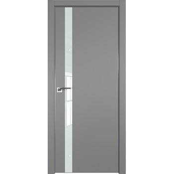 Дверь профиль дорс 6Е Грей - со стеклом