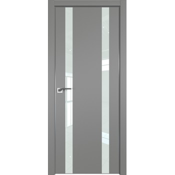 Дверь профиль дорс 9Е Грей - со стеклом