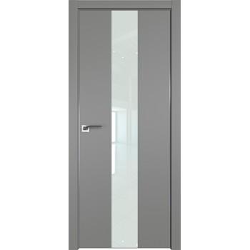 Дверь профиль дорс 25Е Грей - со стеклом