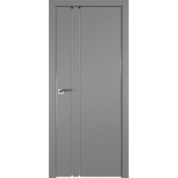 Дверь Профиль дорс 35Е Грей - со стеклом