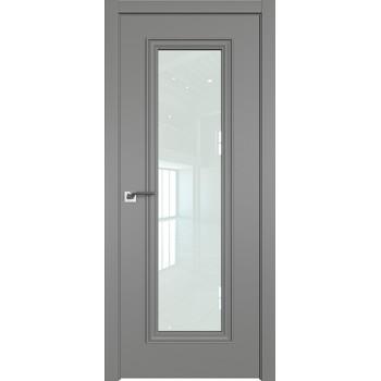 Дверь профиль дорс 51Е Грей - со стеклом