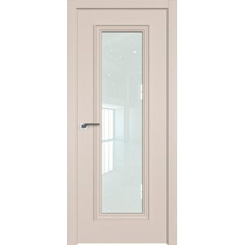 Дверь профиль дорс 51Е Санд - со стеклом