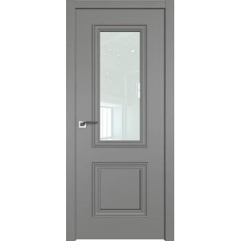 Дверь Профиль дорс 53Е Грей - со стеклом