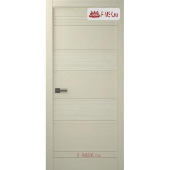 Межкомнатная дверь Твинвуд 3 (полотно глухое), Эмаль слоновая кость 2000х600 Belwooddoors (Товар № ZF126477)