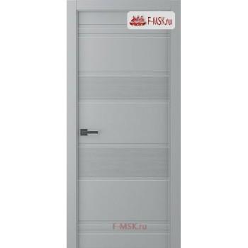Межкомнатная дверь Твинвуд 3 (полотно глухое), Эмаль светло - серый 2000х800 Belwooddoors (Товар № ZF126485)