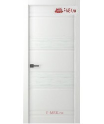 Межкомнатная дверь Твинвуд 3 (полотно глухое), Эмаль белый 2000х800 Belwooddoors (Товар № ZF126489)