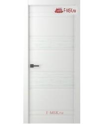 Межкомнатная дверь Твинвуд 3 (полотно глухое), Эмаль белый 2000х600 Belwooddoors (Товар № ZF126493)