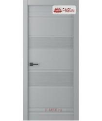 Межкомнатная дверь Твинвуд 3 (полотно глухое), Эмаль светло - серый 2000х700 Belwooddoors (Товар № ZF126513)