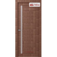 Межкомнатная дверь Барселона (остекленное), Нойс, Стекло: Мателюкс бронза, 2000х800 Belwooddoors (Товар № ZF125661)