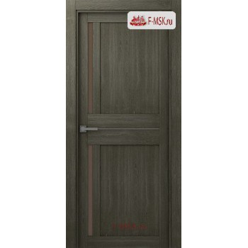 Межкомнатная дверь Мадрид 04 (остекленное), Анкор, Стекло: Мателюкс бронза, 2000х900 Belwooddoors (Товар № ZF125681)