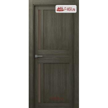 Межкомнатная дверь Мадрид 04 (остекленное), Анкор, Стекло: Мателюкс бронза, 2000х800 Belwooddoors (Товар № ZF125685)
