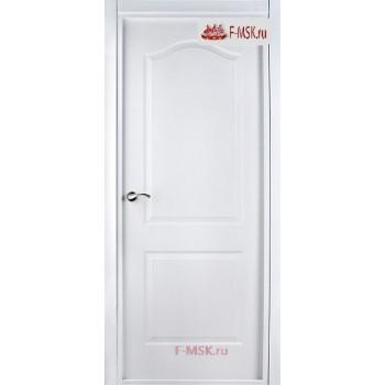 Межкомнатная дверь Капричеза L (полотно глухое), Белый 2000х600 Belwooddoors (Товар № ZF49389)