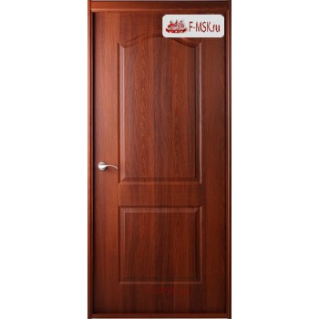 Межкомнатная дверь Капричеза L (полотно глухое), Орех итальянский 2000х600 Belwooddoors (Товар № ZF49390)
