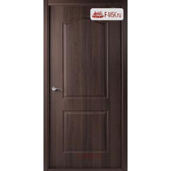 Межкомнатная дверь Капричеза L (полотно глухое), Темный шоколад 2000х800 Belwooddoors (Товар № ZF31730)