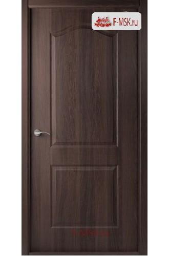 Межкомнатная дверь Капричеза L (полотно глухое), Темный шоколад 2000х900 Belwooddoors (Товар № ZF31738)