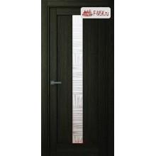 Межкомнатная дверь Челси (остекленное), Шимо, Стекло: Мателюкс бронза, 2000х900 Belwooddoors (Товар № ZF125785)