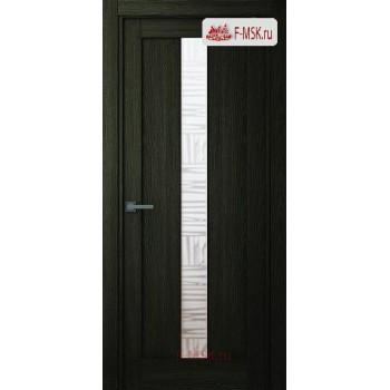 Межкомнатная дверь Челси (остекленное), Шимо, Стекло: Мателюкс бронза, 2000х600 Belwooddoors (Товар № ZF125789)