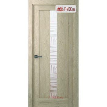 Межкомнатная дверь Челси (остекленное), Дуб дорато, Стекло: Мателюкс бронза, 2000х900 Belwooddoors (Товар № ZF125793)