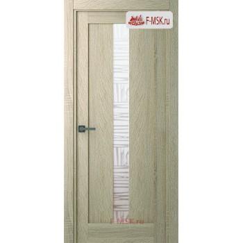 Межкомнатная дверь Челси (остекленное), Дуб дорато, Стекло: Мателюкс бронза, 2000х700 Belwooddoors (Товар № ZF125801)