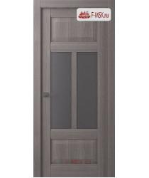 Межкомнатная дверь Аризона (остекленное), Ильм швейцарский, Стекло: Мателюкс флоат графит, 2000х900 Belwooddoors (Товар № ZF125905)