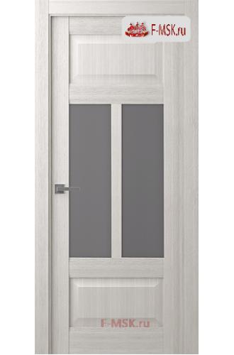 Межкомнатная дверь Аризона (остекленное), Ясень рибейра, Стекло: Мателюкс флоат графит, 2000х800 Belwooddoors (Товар № ZF125917)