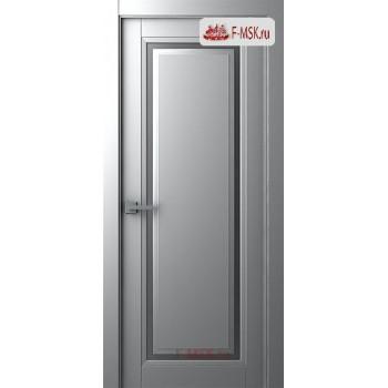 Межкомнатная дверь Аурум 1 (остекленное), Эмаль светло - серый, Стекло: Сатин двусторонний каленый, 2000х600 Belwooddoors (Товар № ZF125993)