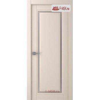 Межкомнатная дверь Аурум 1 (остекленное), Эмаль слоновая кость, Стекло: Сатин двусторонний каленый, 2000х600 Belwooddoors (Товар № ZF125997)