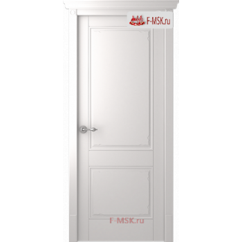 Межкомнатная дверь Селби (полотно глухое), Эмаль белый 2000х600 Belwooddoors (Товар № ZF59723)