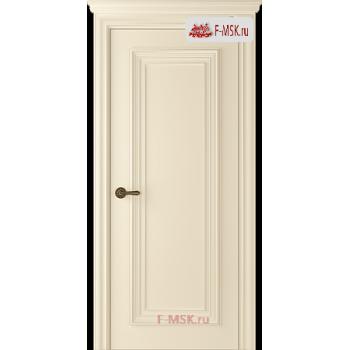 Межкомнатная дверь Палаццо 1 (полотно глухое), Эмаль слоновая кость 2000х600 Belwooddoors (Товар № ZF59543)