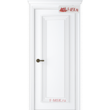 Межкомнатная дверь Палаццо 1 (полотно глухое), Эмаль белый 2000х900 Belwooddoors (Товар № ZF59539)