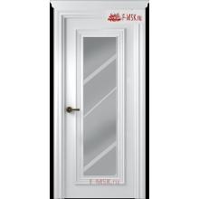 Межкомнатная дверь Палаццо 1 (остекленное), Эмаль белый, Стекло: Зеркало, 2000х800 Belwooddoors (Товар № ZF59447)