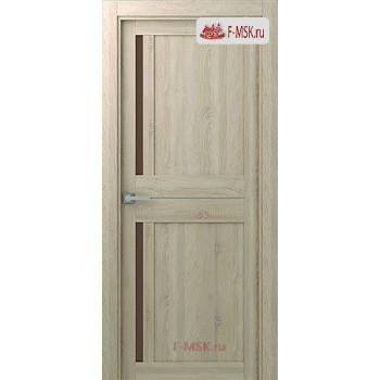 Межкомнатная дверь Мадрид 04 (остекленное), Дуб дорато, Стекло: Мателюкс бронза, 2000х600 Belwooddoors (Товар № ZF59200)