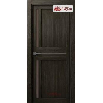 Межкомнатная дверь Мадрид 04 (остекленное), Шимо, Стекло: Мателюкс бронза, 2000х700 Belwooddoors (Товар № ZF59203)