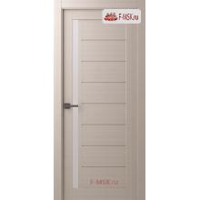 Межкомнатная дверь Барселона (остекленное), Шамбор, Стекло: Мателюкс белый, 2000х700 Belwooddoors (Товар № ZF59198)