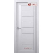 Межкомнатная дверь Барселона (остекленное), Бьянко нобиле, Стекло: Мателюкс белый, 2000х600 Belwooddoors (Товар № ZF59202)
