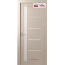 Межкомнатная дверь Далия (остекленное), Шамбор, Стекло: Мателюкс белый, 2000х600 Belwooddoors (Товар № ZF59378)