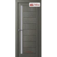 Межкомнатная дверь Барселона (остекленное), Ильм швейцарский, Стекло: Мателюкс белый, 2000х600 Belwooddoors (Товар № ZF59196)