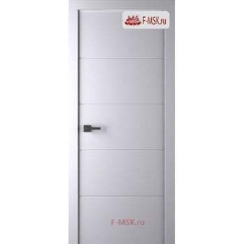 Межкомнатная дверь Арвика (глухое полотно), Эмаль белый 2000х0,4 Belwooddoors (Товар № ZF59139)