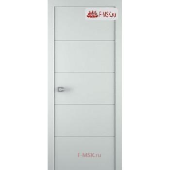 Межкомнатная дверь Арвика (глухое полотно), Эмаль светло - серый 2000х600 Belwooddoors (Товар № ZF59151)